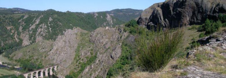 Belvédère sur les gorges de l'Allier